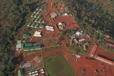 Mines de Rio Tinot's Simandou de Guinée