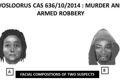 Identikits of suspects allegedly linked to Senzo Meyiwa shooting.