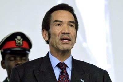 President Ian Khama of Botswana.