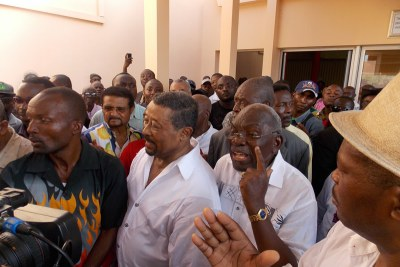Les leaders de l'opposition gabonaise