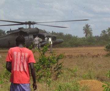 U.S. Army Unveils New Ebola Treatment Unit in Liberia