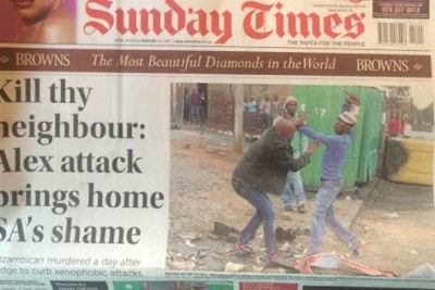 Mozambican Emmanuel Sithole was attacked and killed in South Africa.