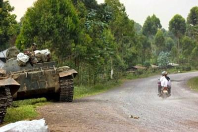 Une vue de Kibati (Nord-Kivu)