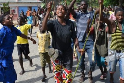 Rising unrest in Burundi is leading to thousands again fleeing to Tanzania.