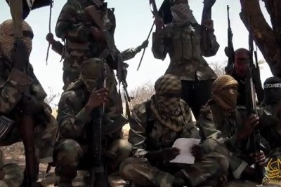 Al-Shabaab fighters.