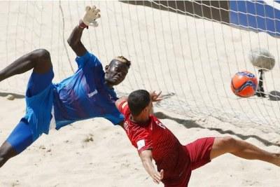 Al Seyni N'Diaye, le gardien des Lions de la téranga en Coupe du Monde de Beach Soccer de la FIFA Portugal 2015