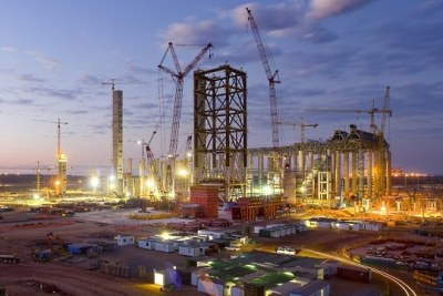 The Medupi Power Station being built in Limpopo province,