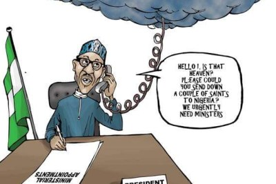 Buhari's ministerial appointments.
