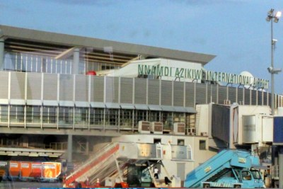 Nnamdi Azikiwe International Airport.