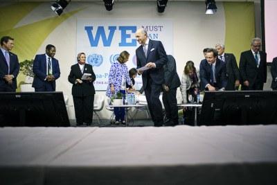 10 milliards de dollars de financement annoncés en faveur de l'Union africaine sur les énergies renouvelables