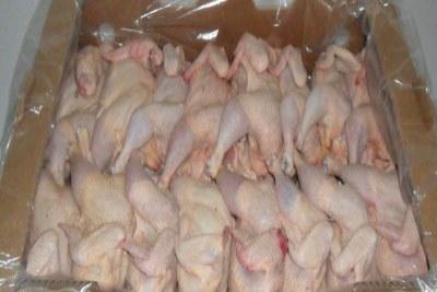 Des poulets vendus