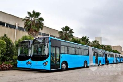 Bus Rapid Transit (BRT) buses in Dar es Salaam (file photo).