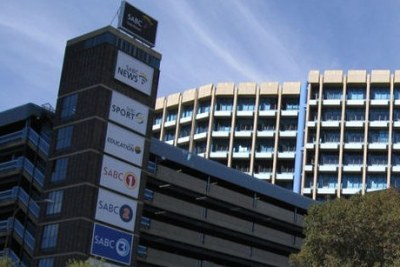The South African Broadcasting Corporation headquarters in Johannesburg, South Africa.