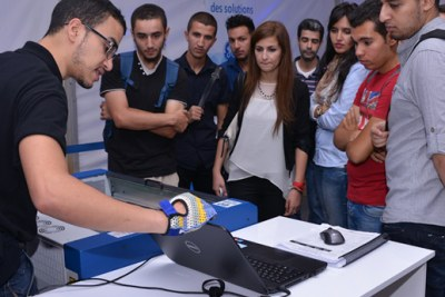 In the context of the I.D.E.A. initiative, GE has brought its GE Garages workshop to Algeria. GE Garages uses real equipment – including 3D printers, CNC mills, laser cutters and injection molders – to provide hands-on demonstrations of how these tools and technologies are changing the nature of manufacturing.