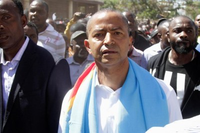 Opposition leader Moïse Katumbi in Lubumbashi
