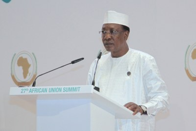 Idriss Déby Itno President of Chad