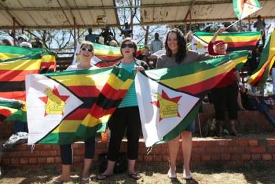 Manifestation anti-Mugabe au Zimbabwe