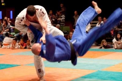 Combat de judo aux Jeux Olympiques, Rio 2016