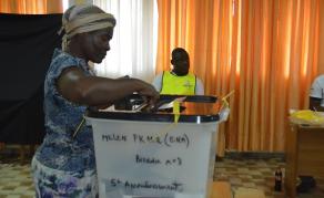 Les résultats des élections tombent au compte-gouttes au Gabon