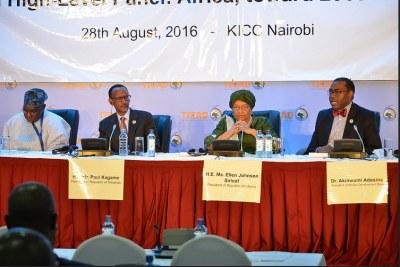 Le président de la BAD et des dirigeants africains au Sommet Afrique-Asie à Nairobi, Ticad VI