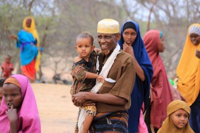 Réfugiés Somaliens dans le camp Dadaab au Kenya