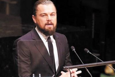 La star américaine Leonardo Dicaprio