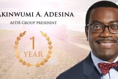 During his investiture as the 8th elected President of the African Development Bank Group on 1st September 2015, Akinwumi Adesina pledged
