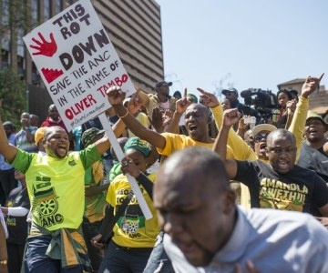 ANC Protests Against Itself