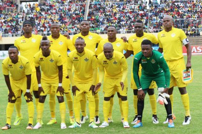 Zimbabwe national soccer team, The Warriors (file photo).