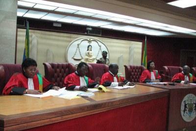 Cour constitutionnelle gabonaise