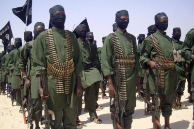 Al-shabaab militants.