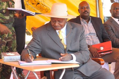 President Museveni.