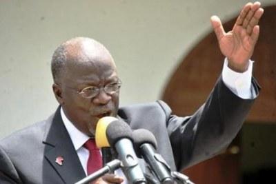 Tanzania President John Magufuli. (File photo).