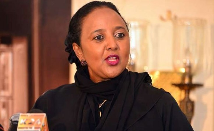 Kenyan sports minister Amina Mohamed to bid for top WTO job