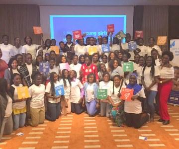 Premier HACKATHON GILRS SENEGAL organisé par ONU FEMMES et IAMTHECODE