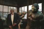 Paris honore le sculpteur Ousmane Sow avec son «Couple de...