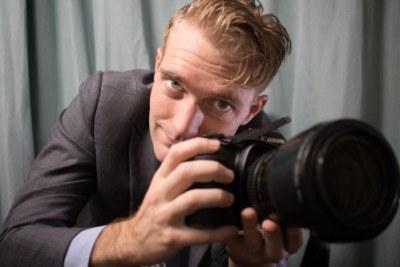 Award-winning South African photojournalist Jay Caboz.