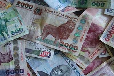 Tanzanian Shillings.