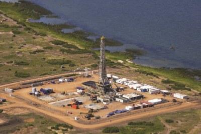 Tullow Oil plant in Uganda.