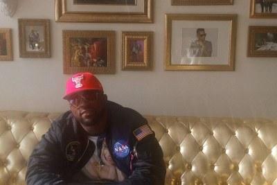 Iyanya at the Roc Nation's studios.