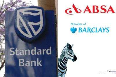 Standard Bank, ABSA, Investec.
