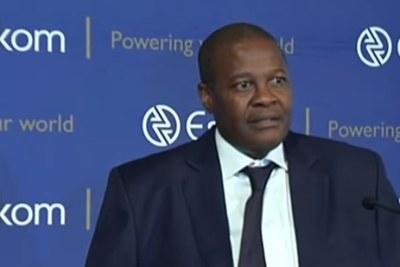 Brian Molefe, former Eskom CEO and now a member of parliament
