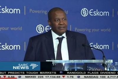 Brian Molefe, former Eskom CEO who will be sworn in as a member of parliament.