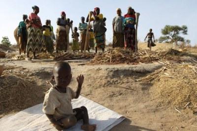 Famine in Nigeria (file photo).