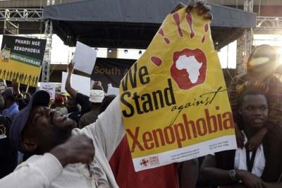 Say no to Xenophobia (file photo).