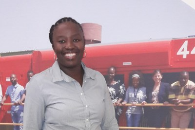 Beauty Mtshweni, Project Manager, Operations & Infrastructure for GE Transportation IT in South Africa