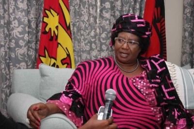 Joyce Banda, former president of Malawi