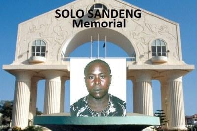 L'activiste de l'opposition Solo Sandeng, décédé en détention sous la présidence de l'ancien président Yahya Jammeh.