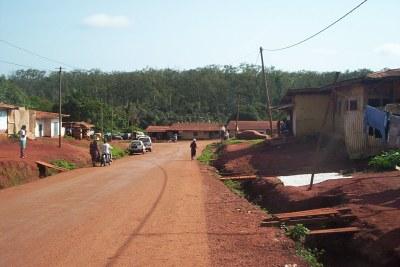 Abong-Mbang ville camerounaise