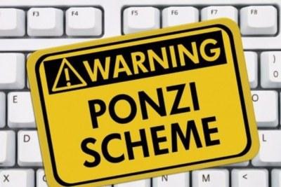 Ponzi schemes.